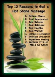 hotstonemassage 10 reasons